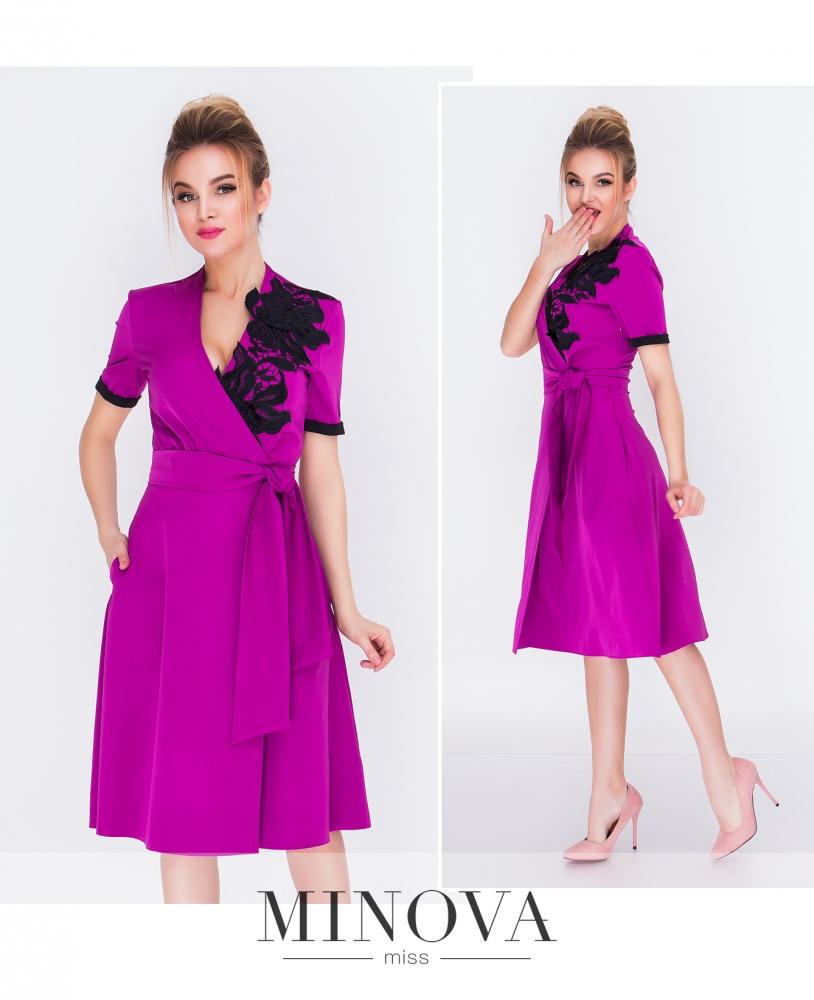 Платье №1215-ягодный_minova_1