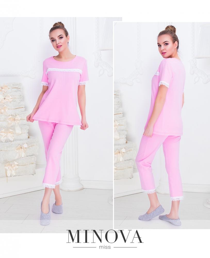 Пижама №912н-розовый