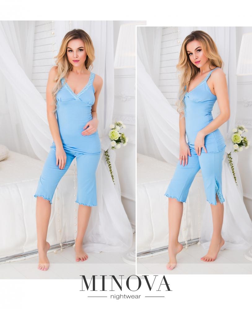 Пижама №904н-голубой