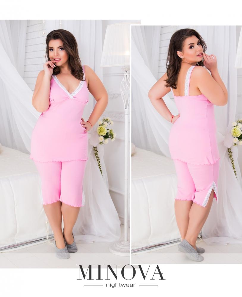 Пижама №804б-розовый