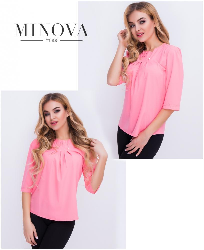 Блуза №408н-персик