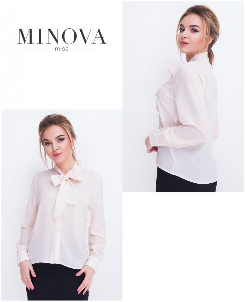 Блуза №3057.12-беж