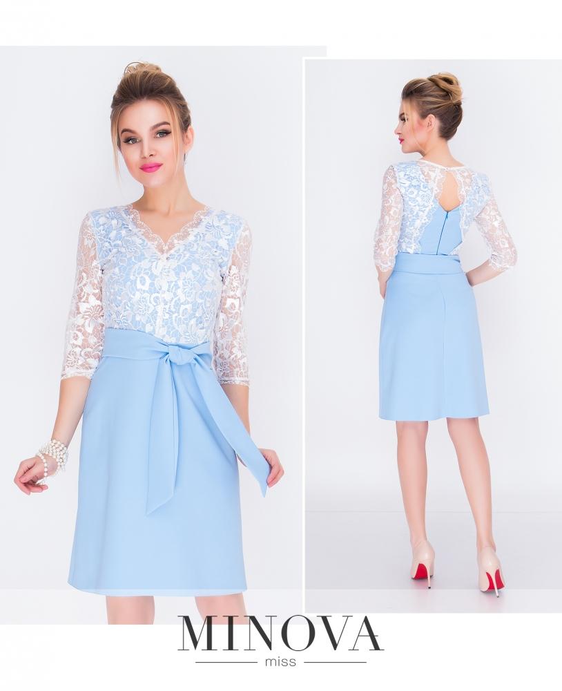 Платье №216-голубой_minova_1