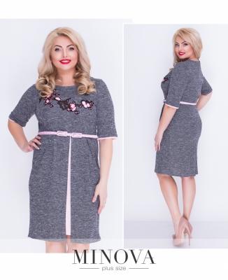 Женские платья большого размера оптом и в розницу от производителя ... 04186f6689caf