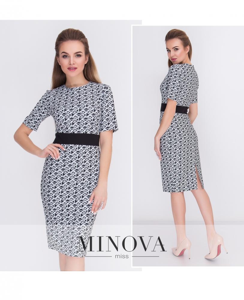 Платье №432-белый (sale)