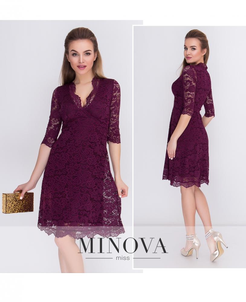 Платье №428-бордо_minova_1