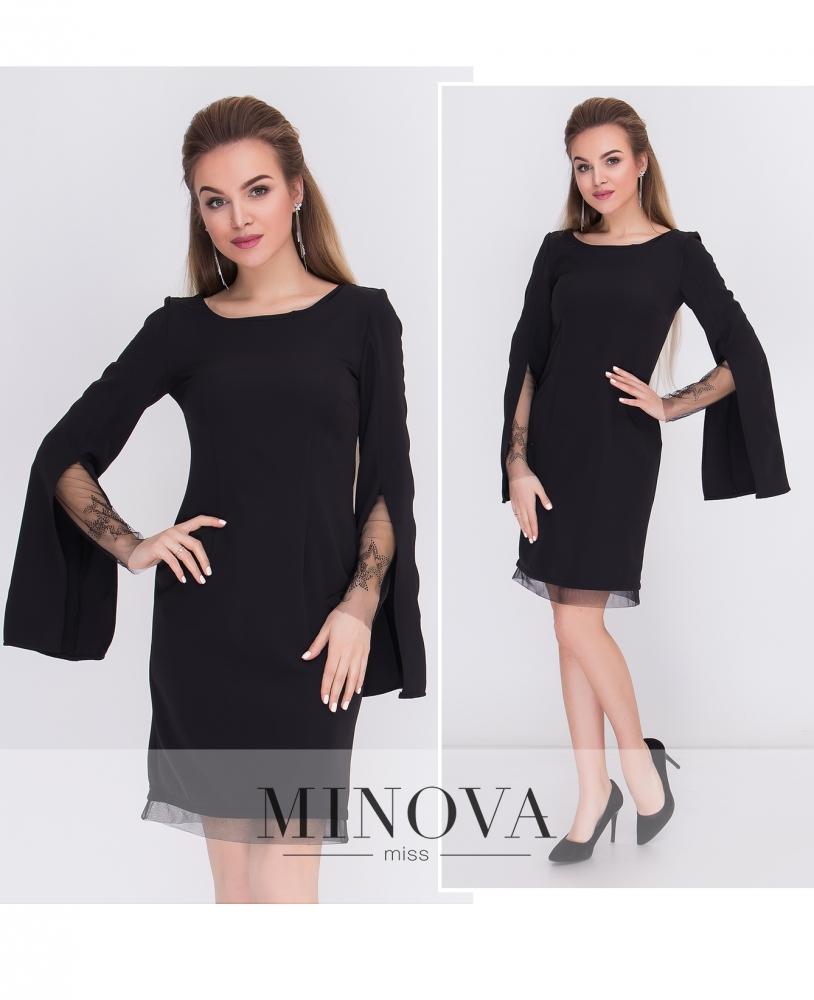 Платье №м.115-черный_minova_1