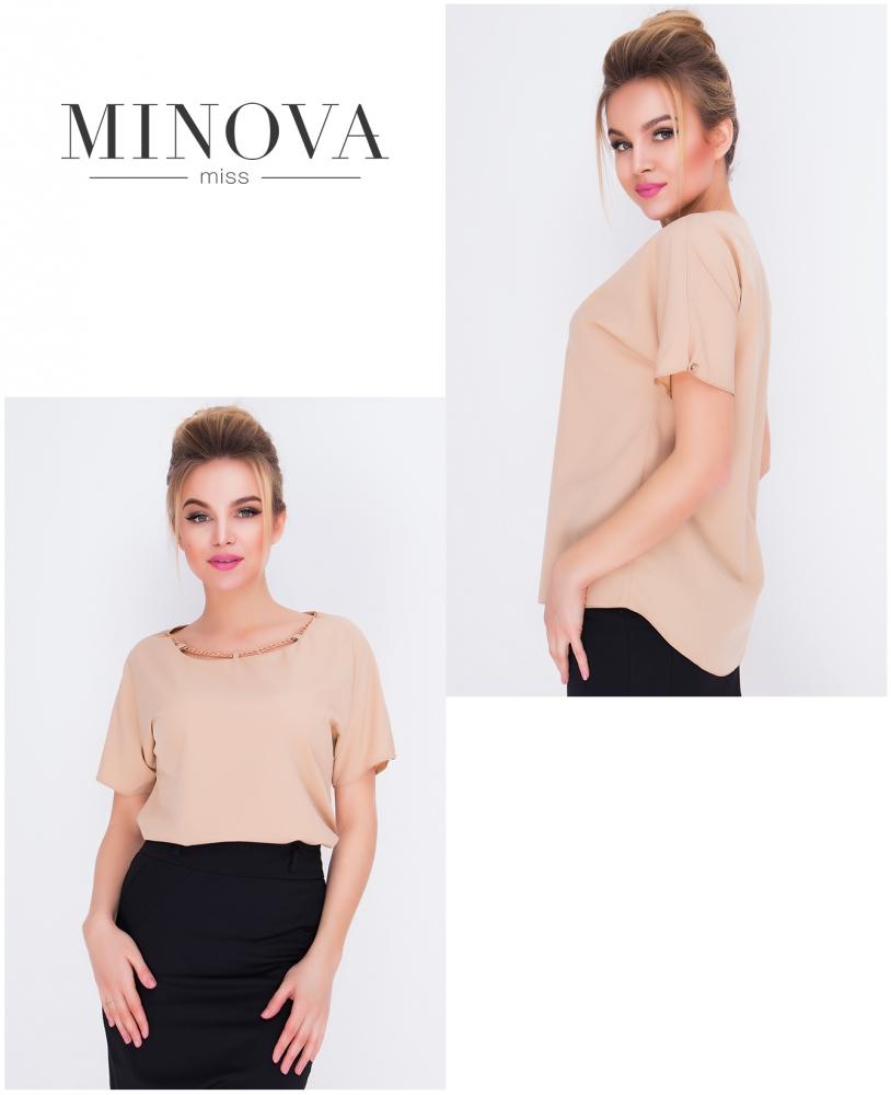 Блуза №415-беж
