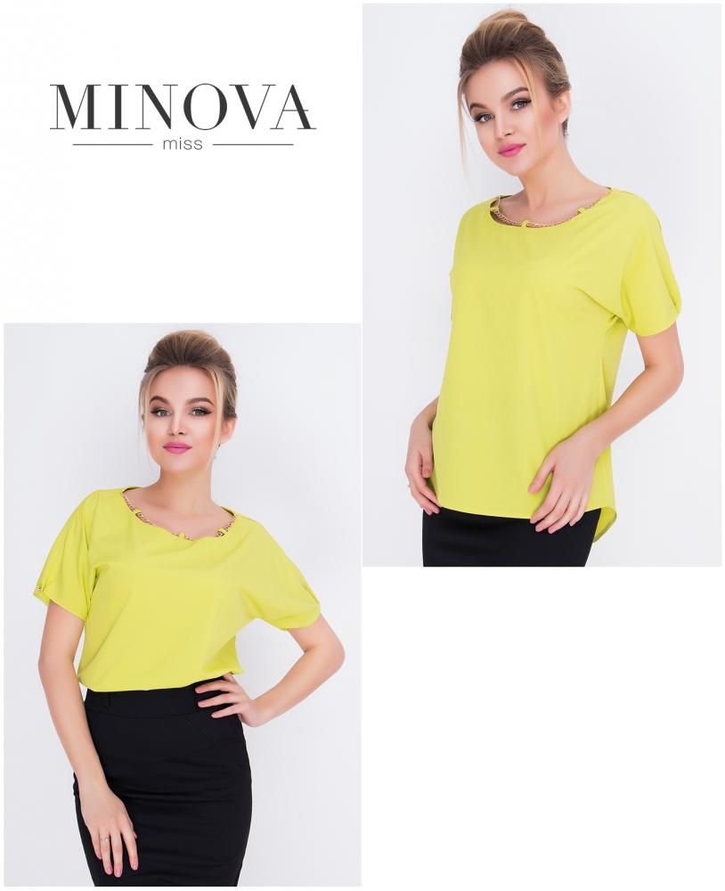 Блуза №415-оливка