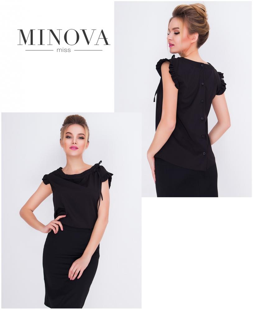Блуза №417-черный
