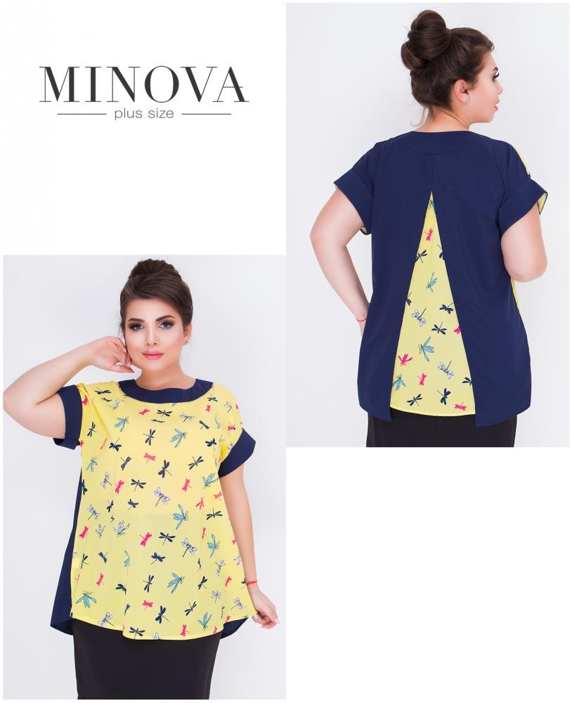 Блуза №422-желтый