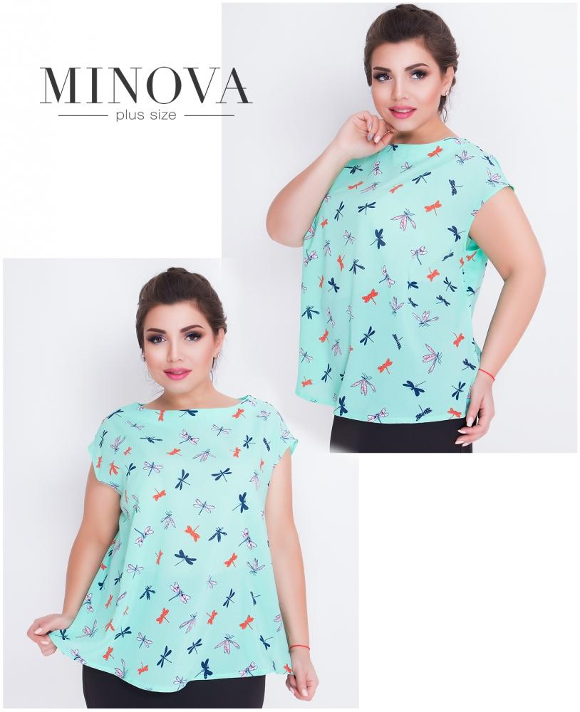Блуза №420-мята