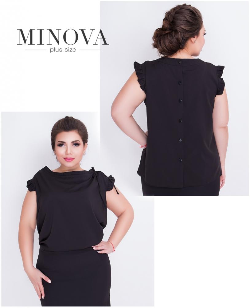 Блуза №416-черный