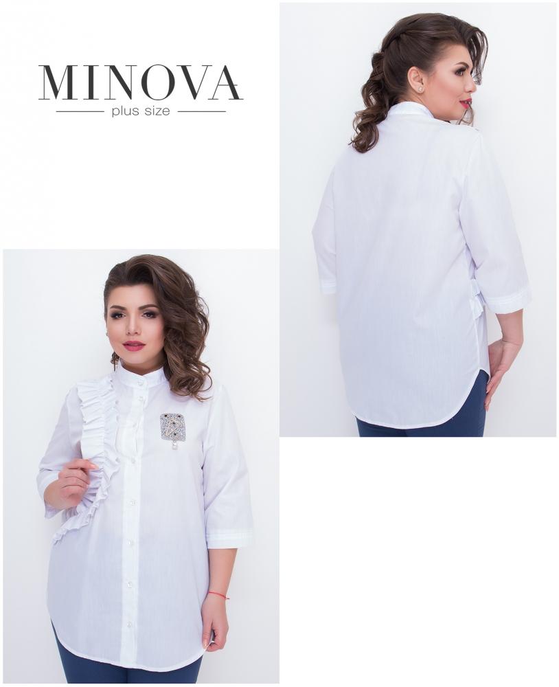 Рубашка №631-белый