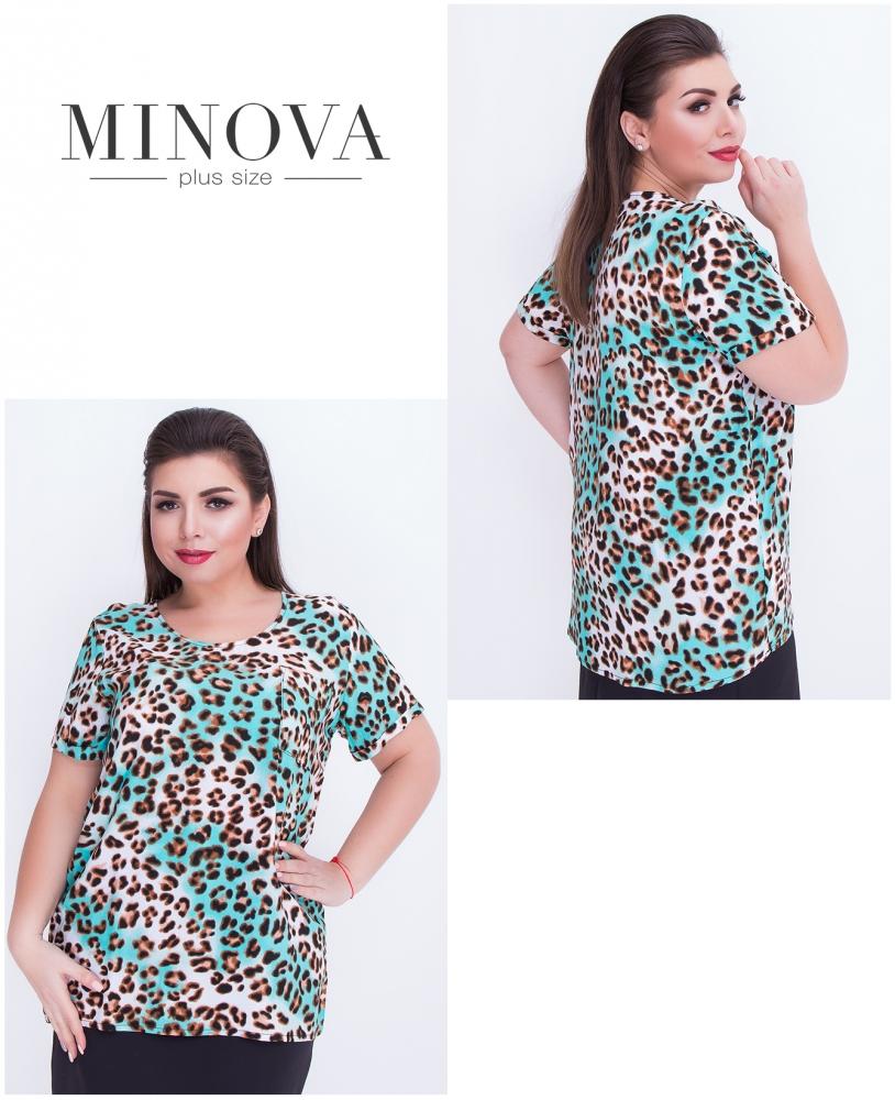 Блуза №425-зеленый