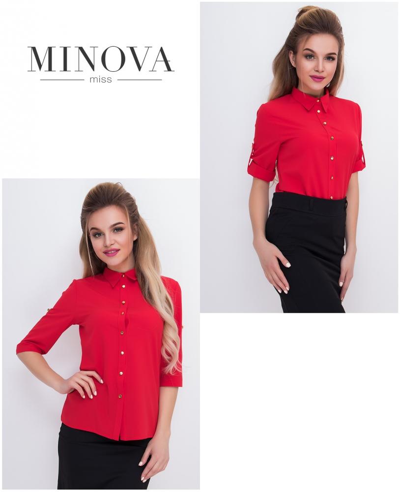Рубашка №427-красный