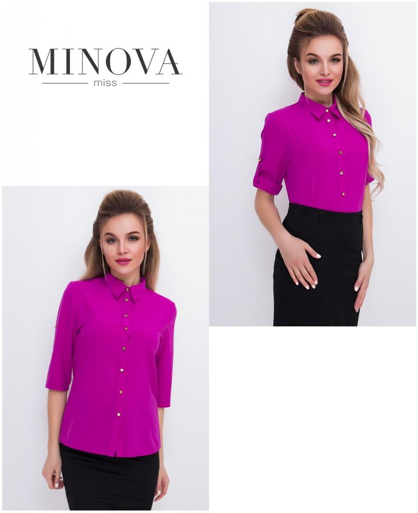 Рубашка №427-фиолетовый