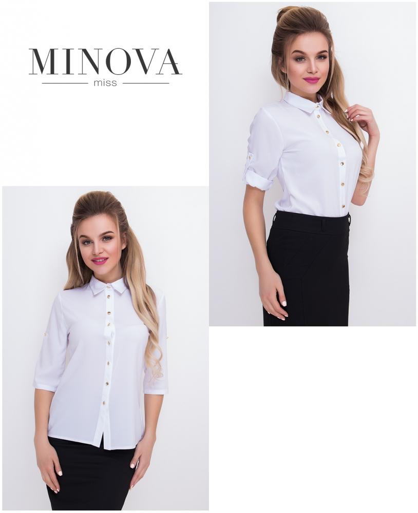 Рубашка №427-белый