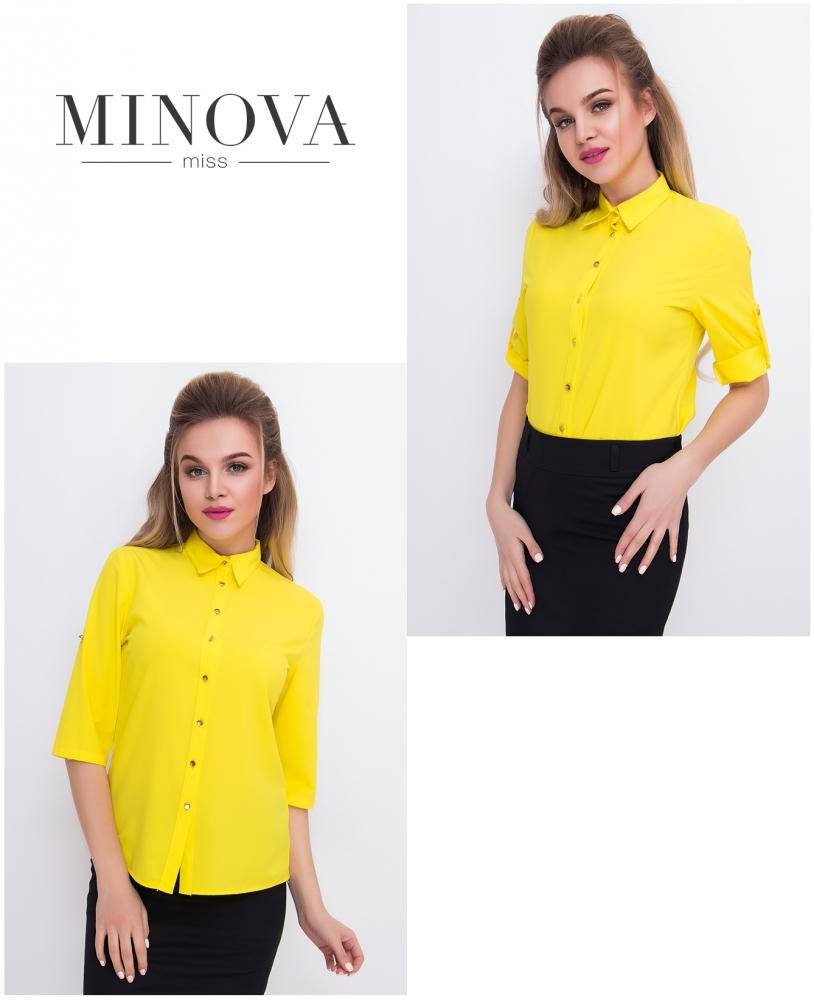 Рубашка №427-желтый
