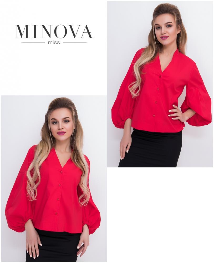 Блуза №3060.14-красный