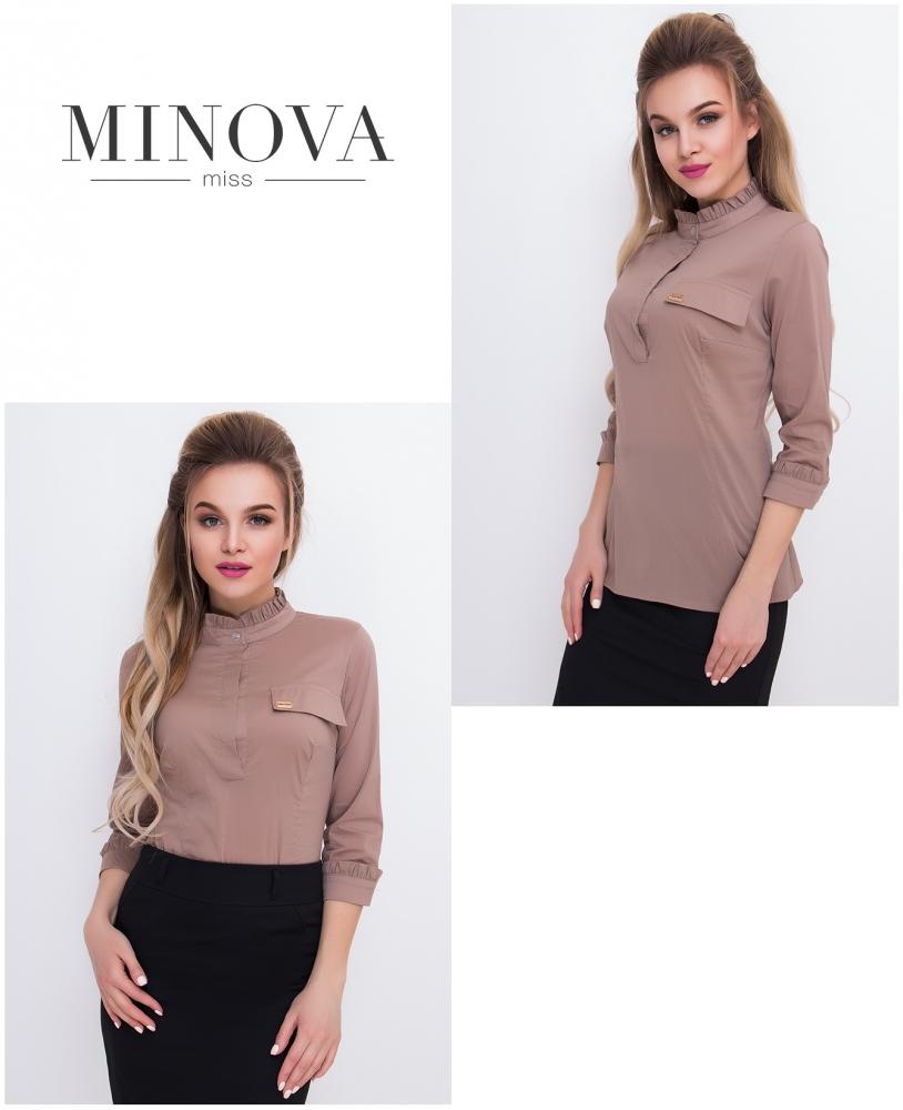 Блуза №1043-капучино