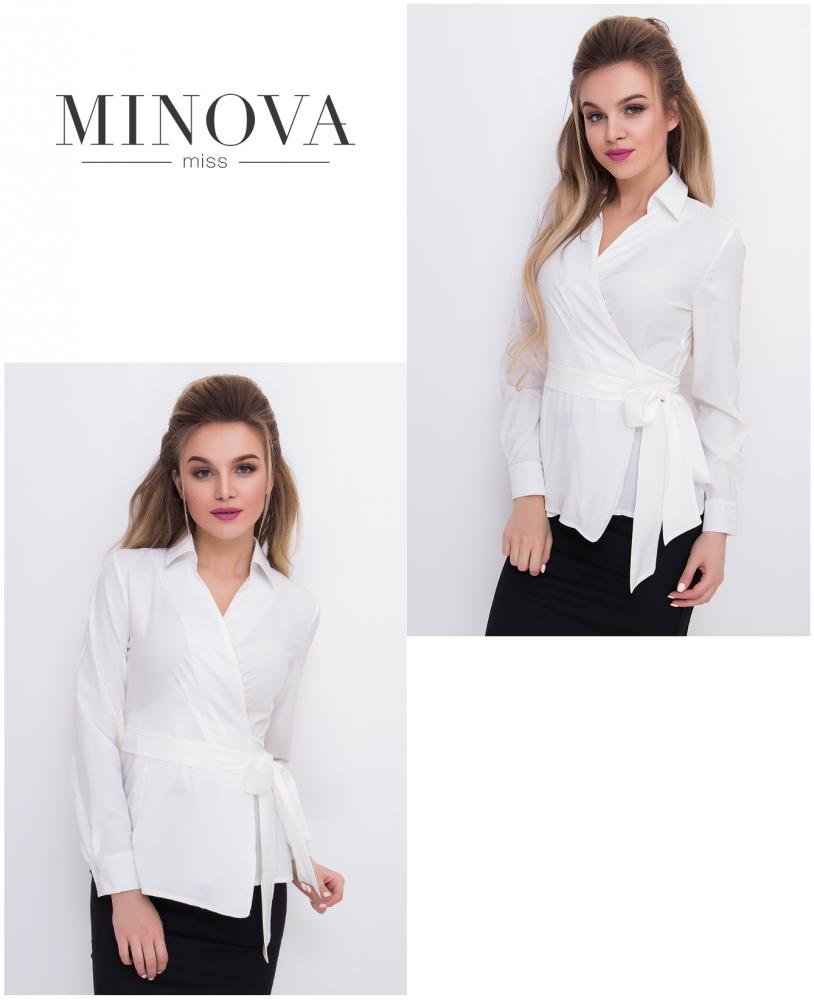 Блуза №3007-белый