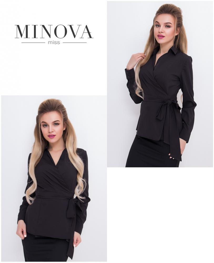 Блуза №3007-черный
