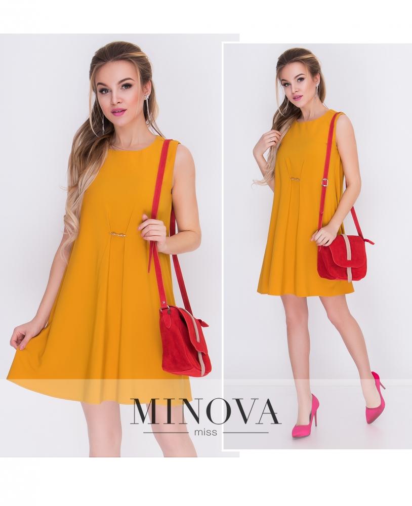 Платье №002-горчица_minova_1
