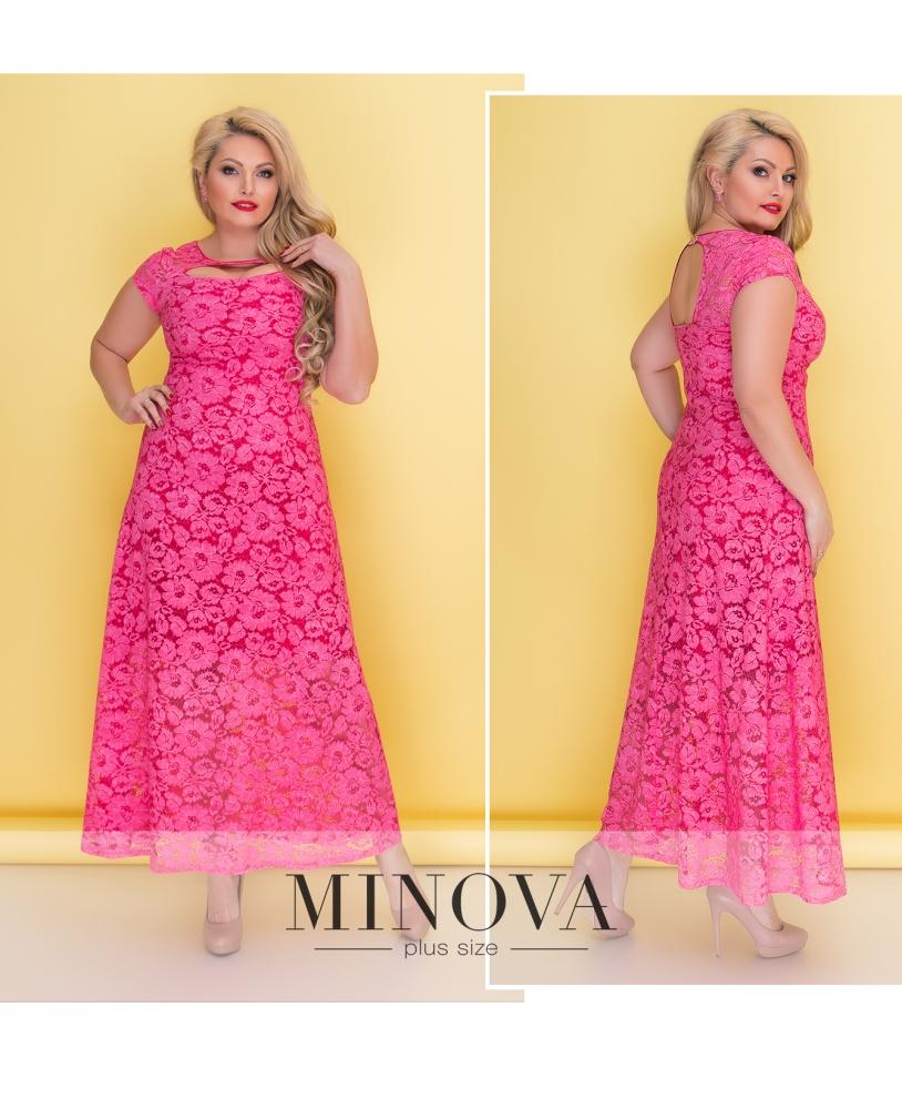 Платье №00275-розовый_minova_1