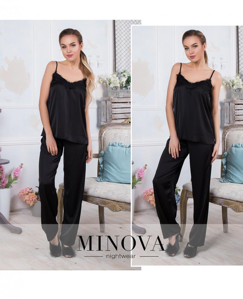 Пижама №930-черный