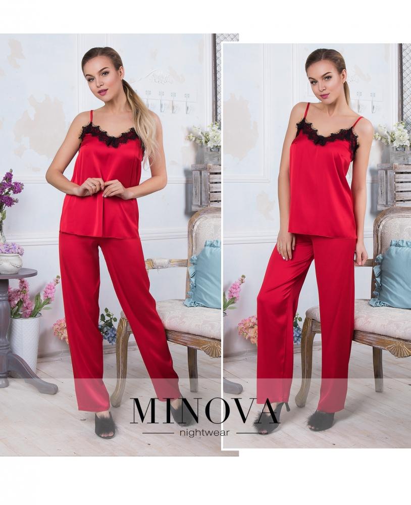 Пижама №930-красный
