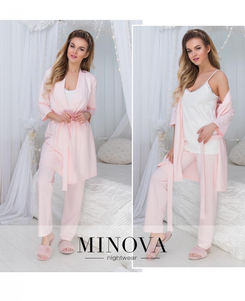 Пижамный комплект №927-розовый