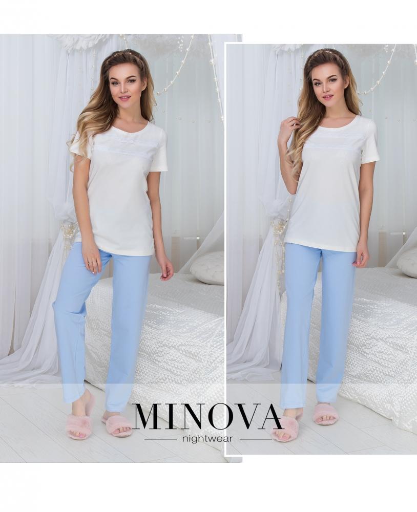 Пижама №926-голубой