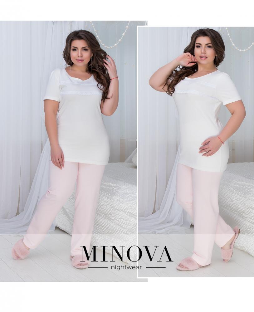 Пижама №826-розовый