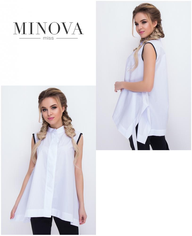 Блуза №3025.16-белый