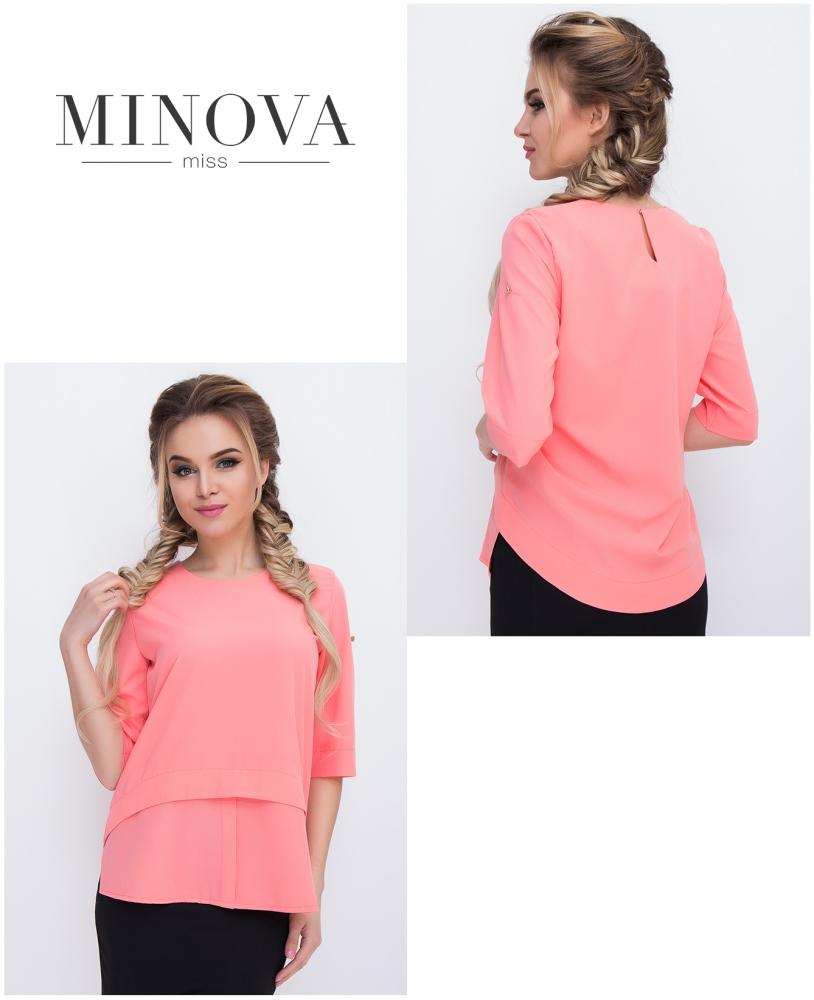 Блуза №429-персик
