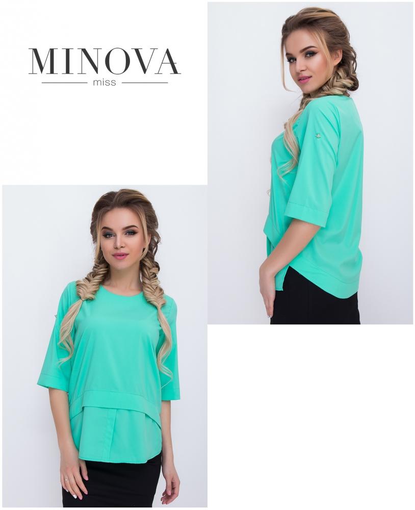 Блуза №429-мята