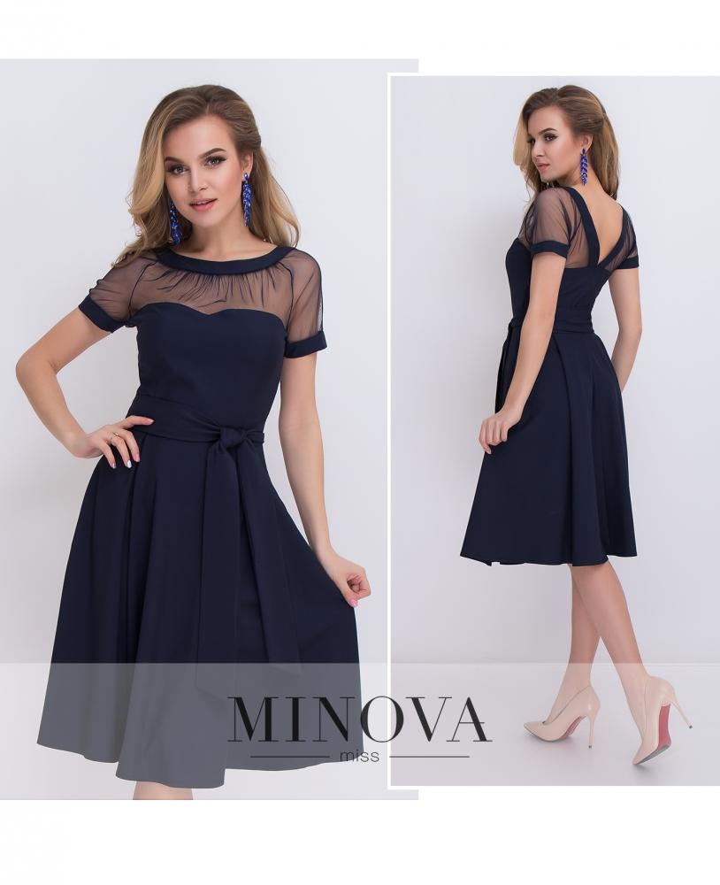 Платье №473-синий_minova_1