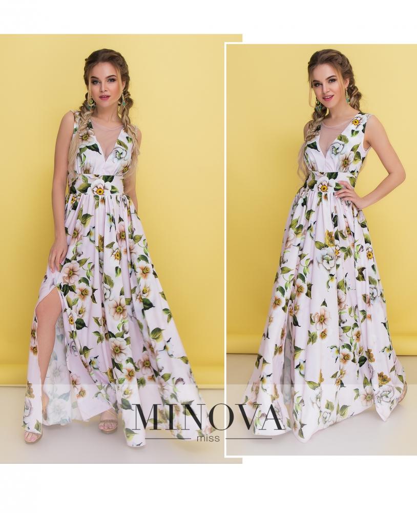 Платье №3094-пудра (sale)