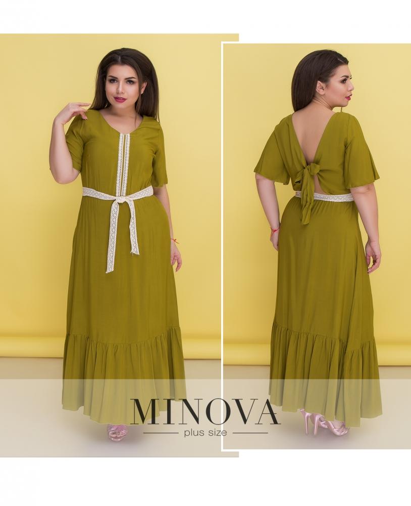 5ee64796e6e Платье №1360-оливка