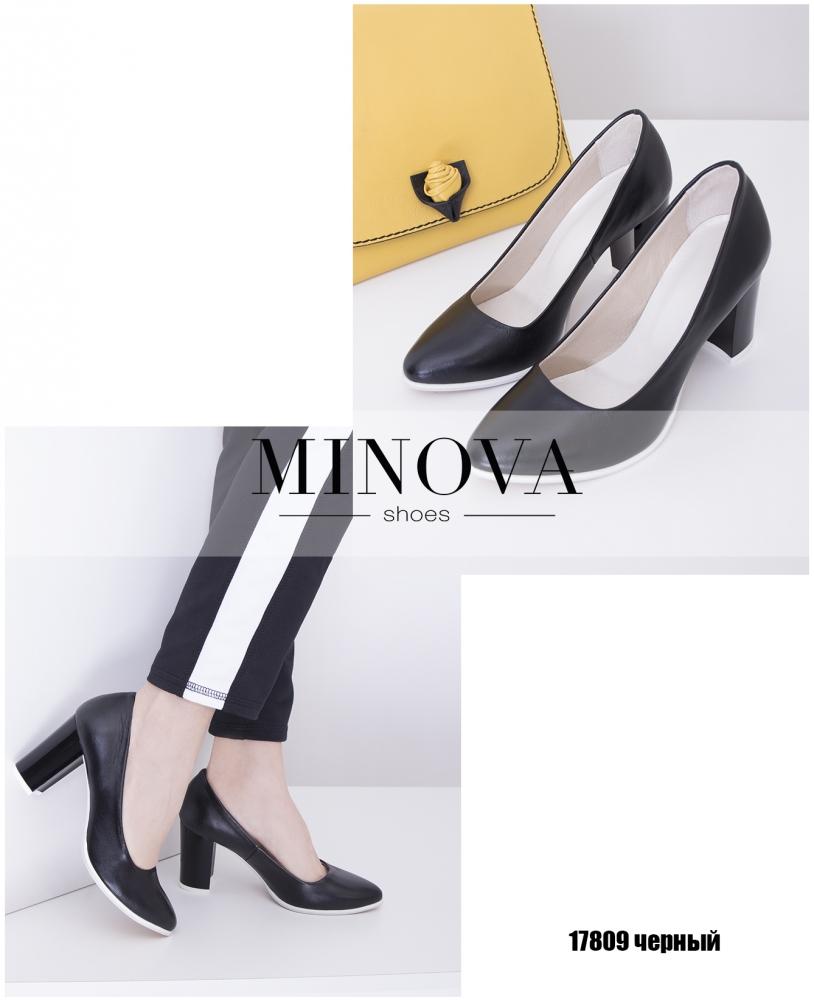 Туфли №17809-черный