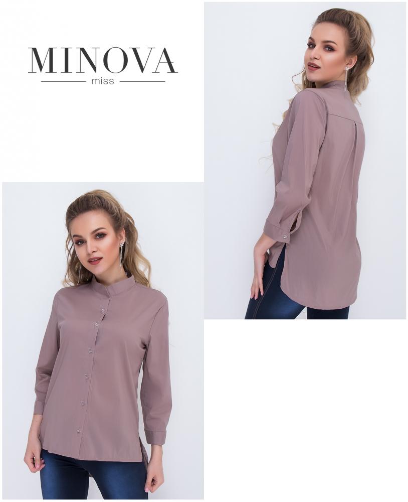 Рубашка №1036-капучино