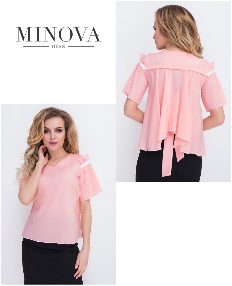 Блуза №8562-персик