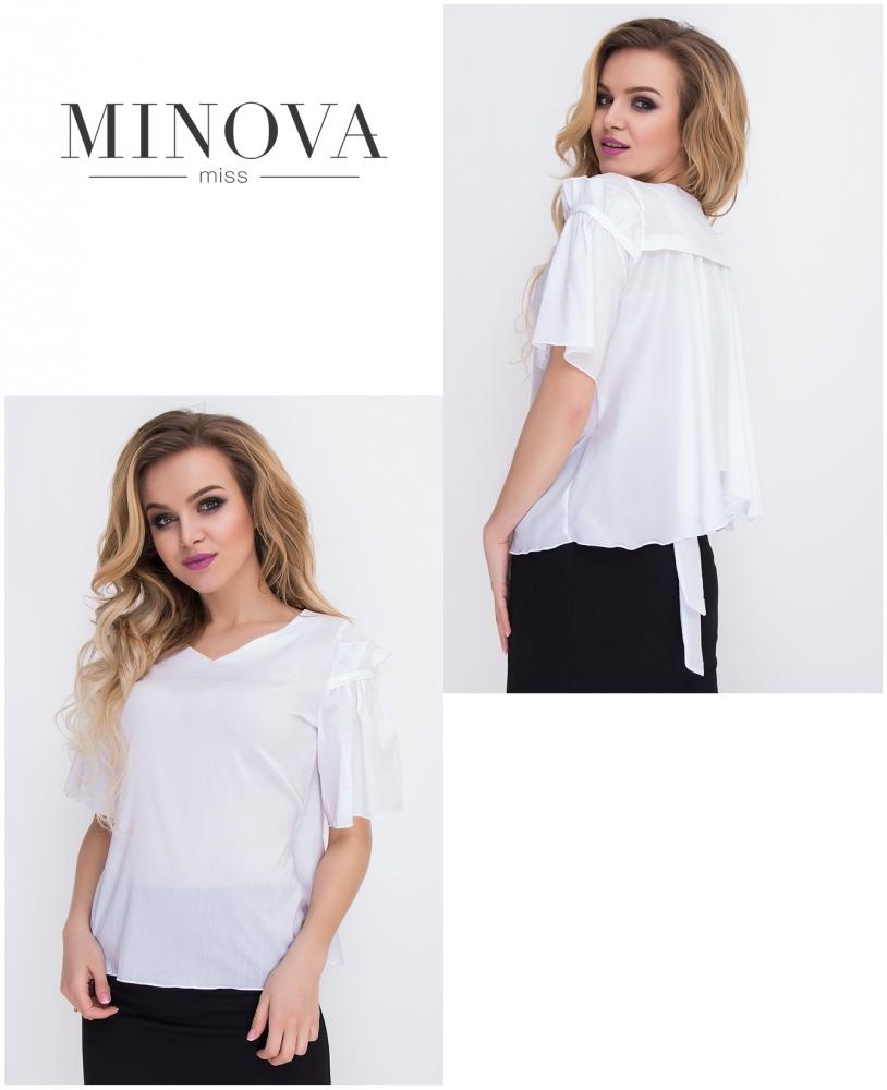 Блуза №8562-белый