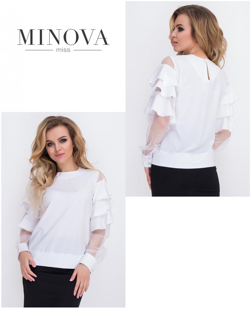Блуза №8579-белый