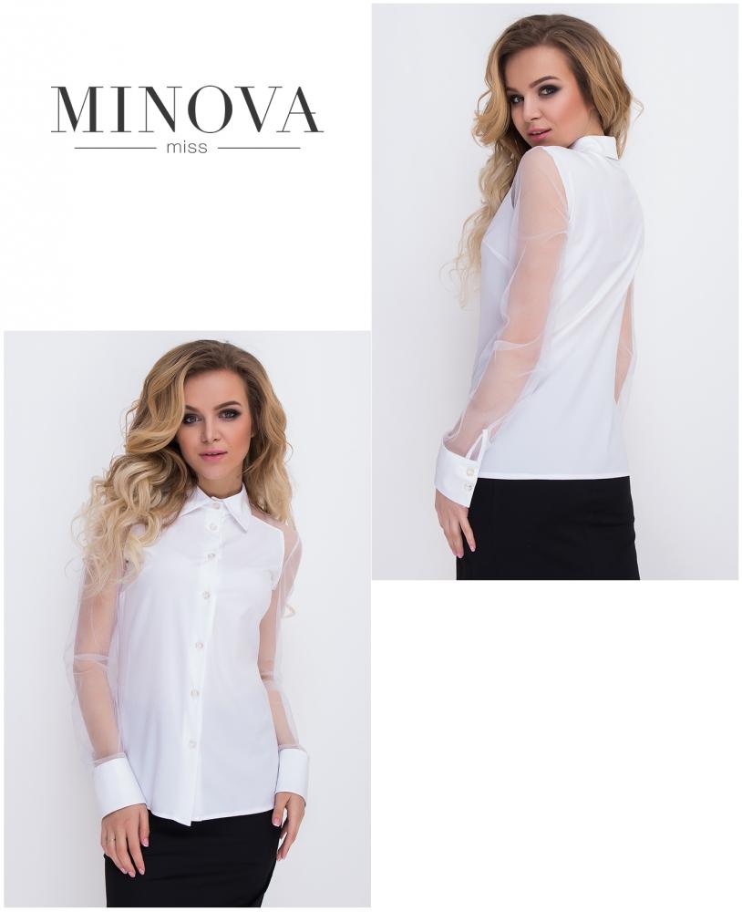 Рубашка №8578-белый