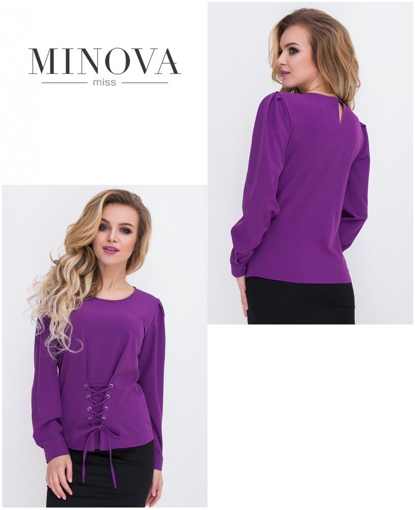 Блуза №431-фиолетовый