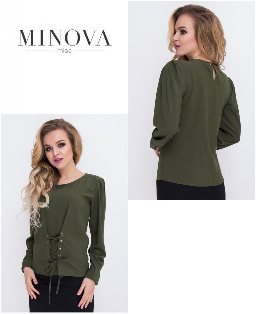 Блуза №431-хаки