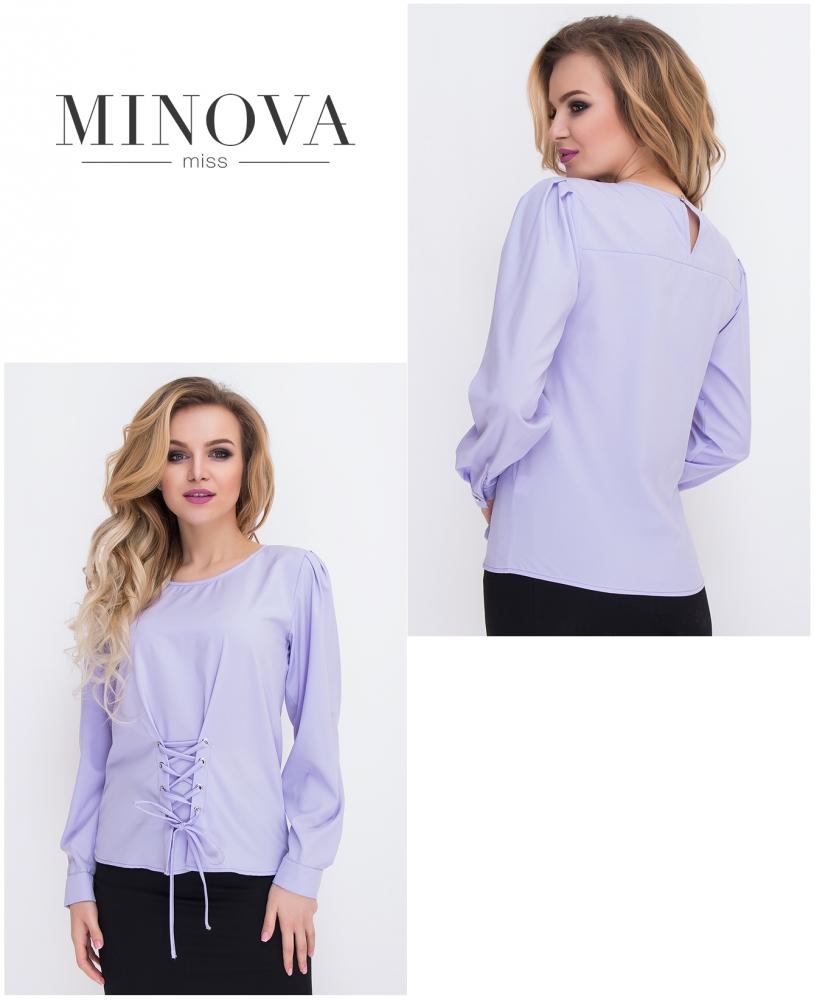Блуза №431-лиловый