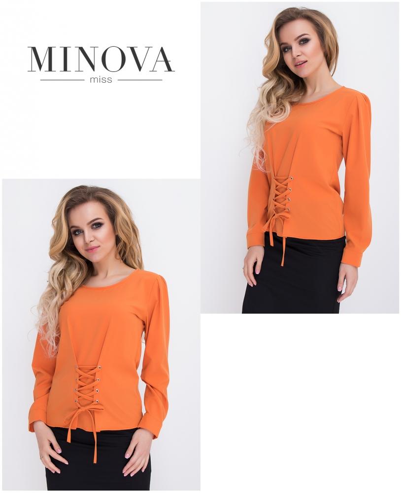 Блуза №431-оранжевый